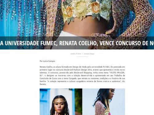 """Divulgação Site """"Armazém Design"""""""